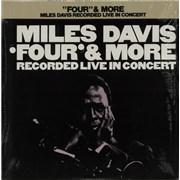 Miles Davis Four & More Japan vinyl LP