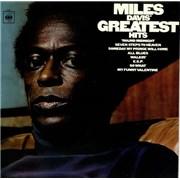 Miles Davis Greatest Hits UK vinyl LP