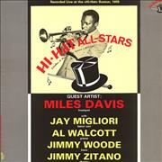 Miles Davis Hi-Hat All-Stars Spain vinyl LP