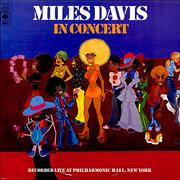 Miles Davis In Concert Netherlands 2-LP vinyl set