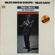 Miles Davis In Europe Japan vinyl LP