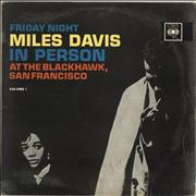 Miles Davis In Person - Friday Night At The Blackhawk Vol.1 UK vinyl LP