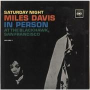 Miles Davis In Person - Saturday Night At The Blackhawk Vol.2 UK vinyl LP