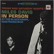Miles Davis In Person - export USA 2-LP vinyl set