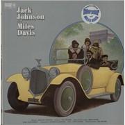 Miles Davis Jack Johnson + Poster UK vinyl LP