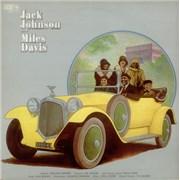 Miles Davis Jack Johnson UK vinyl LP