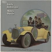Miles Davis Jack Johnson - VG UK vinyl LP