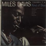 Miles Davis Kind Of Blue - 1st 6-eye USA vinyl LP