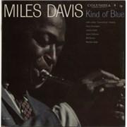 Miles Davis Kind Of Blue - 2 eye USA vinyl LP