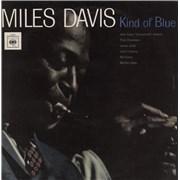 Miles Davis Kind Of Blue - 70s smooth orange label UK vinyl LP