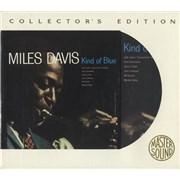 Miles Davis Kind Of Blue USA CD album