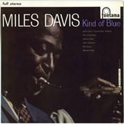 Miles Davis Kind Of Blue UK vinyl LP