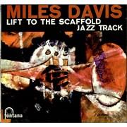 Miles Davis Lift To The Scaffold - Jazz Track UK vinyl LP