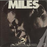 Miles Davis Live At The Plugged Nickel - red label Netherlands 2-LP vinyl set