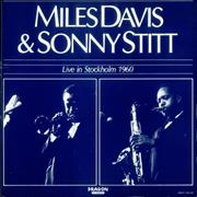 Miles Davis Live In Stockholm 1960 Sweden 2-LP vinyl set