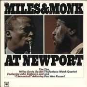 Click here for more info about 'Miles Davis - Miles & Monk At Newport'