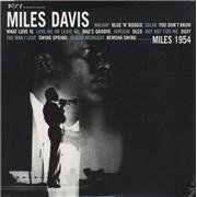 Miles Davis Miles 1954 Europe 2-LP vinyl set