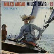 Miles Davis Miles Ahead - 1st - Withdrawn Sailboat Sleeve USA vinyl LP