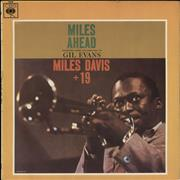 Miles Davis Miles Ahead - 2nd UK vinyl LP