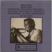 Miles Davis Miles Ahead! USA vinyl LP
