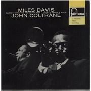 "Miles Davis Miles Davis & John Coltrane EP UK 7"" vinyl"
