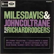 Click here for more info about 'Miles Davis - Miles Davis & John Coltrane Play Richard Rodgers'