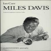 Click here for more info about 'Miles Davis - Miles Davis - Ian Carr'