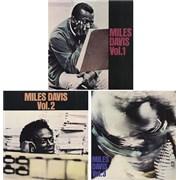 Miles Davis Miles Davis - Volumes 1 - 3 Japan 3-LP vinyl set