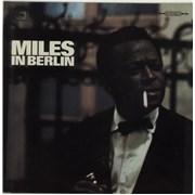Miles Davis Miles In Berlin - 1st Germany vinyl LP