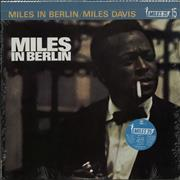 Miles Davis Miles In Berlin - Sealed Japan vinyl LP
