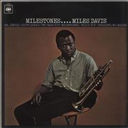 Click here for more info about 'Miles Davis - Milestones - EX'
