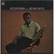 Miles Davis Milestones UK vinyl LP