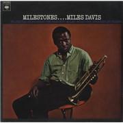 Miles Davis Milestones Netherlands vinyl LP