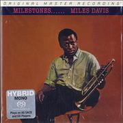 Miles Davis Milestones USA super audio CD