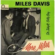 "Miles Davis More Miles EP UK 7"" vinyl"