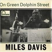 """Miles Davis On Green Dolphin Street EP UK 7"""" vinyl"""
