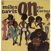 Miles Davis On The Corner - 1st UK vinyl LP