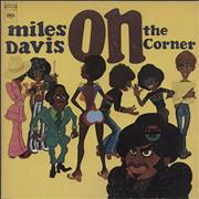 Miles Davis On The Corner USA vinyl LP