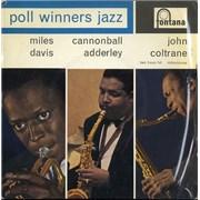 "Miles Davis Poll Winners Jazz EP UK 7"" vinyl"