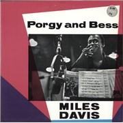 Miles Davis Porgy And Bess - Red Label UK vinyl LP