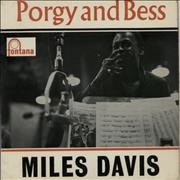 "Miles Davis Porgy And Bess EP UK 7"" vinyl"