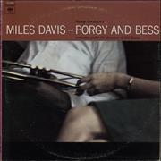 Miles Davis Porgy And Bess USA vinyl LP