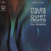 Miles Davis Quiet Nights - Sealed USA vinyl LP