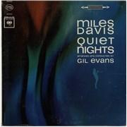 Miles Davis Quiet Nights - 'Two Eye' - White 360 USA vinyl LP