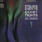 Click here for more info about 'Miles Davis - Quiet Nights - 'one eye' label'
