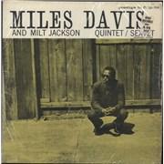 Miles Davis Quintet / Sextet - 2nd USA vinyl LP