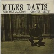 Miles Davis Quintet / Sextet France vinyl LP