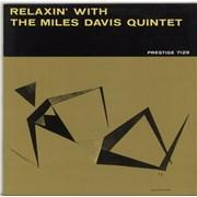 Miles Davis Relaxin' With The Miles Davis Quintet - 180gm USA vinyl LP