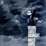 Miles Davis 'Round About Midnight France vinyl LP
