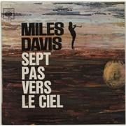 Miles Davis Sept Pas Vers Le Ciel [Seven Steps To Heaven] France vinyl LP